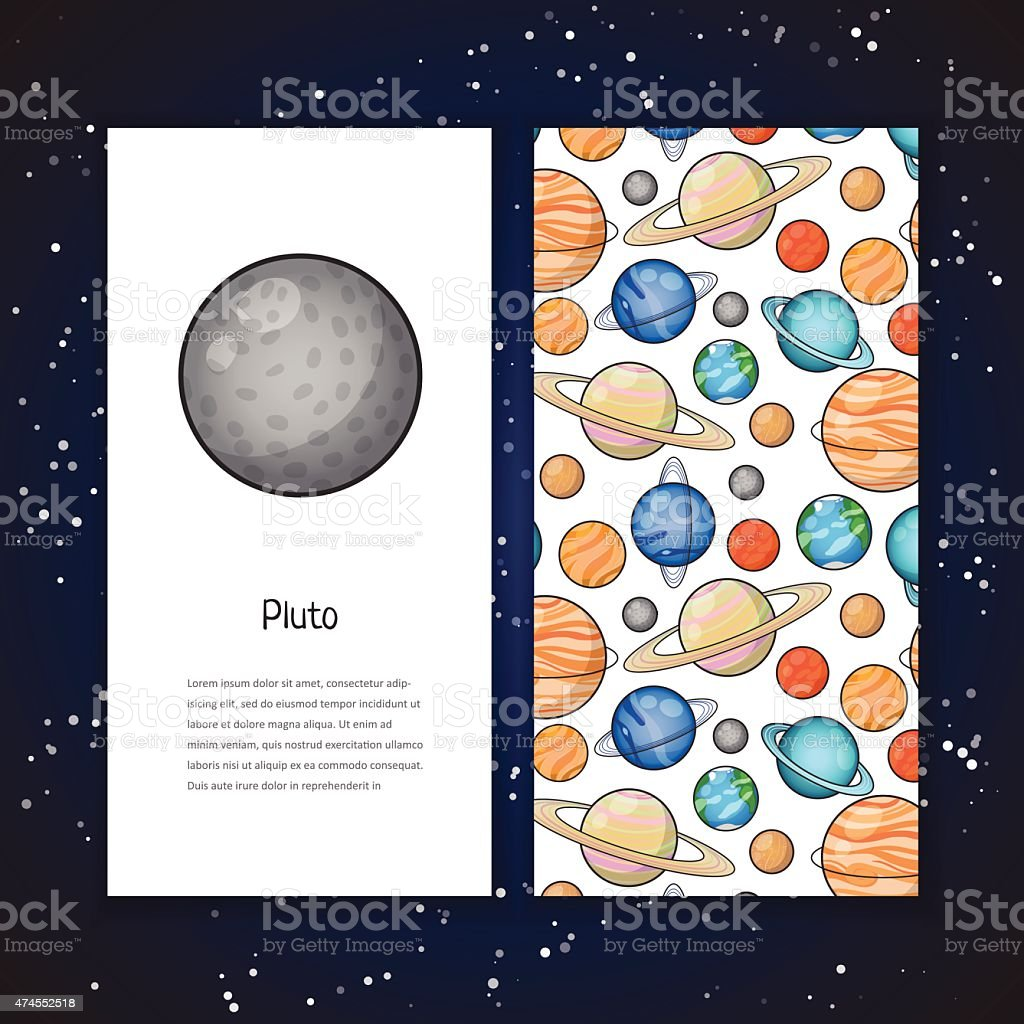 Planet design template royalty-free planet design template stock vector art & more images of 2015