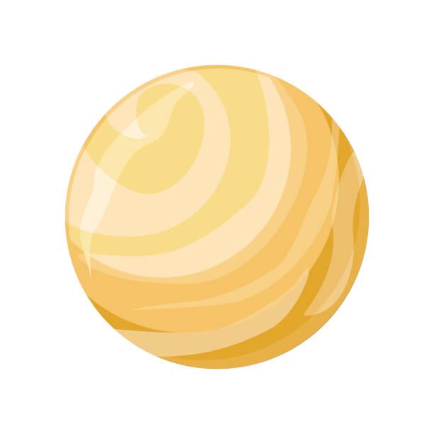 planet venus icon - venus stock illustrations