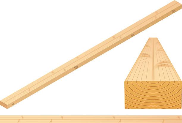 Plank vector art illustration