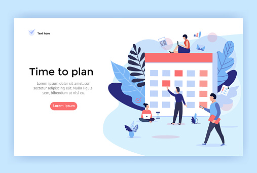Planning concept illustration.
