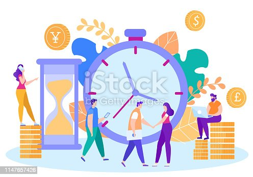 614338352istockphoto Planning Meeting with Business Partner Flat Vector 1147657426