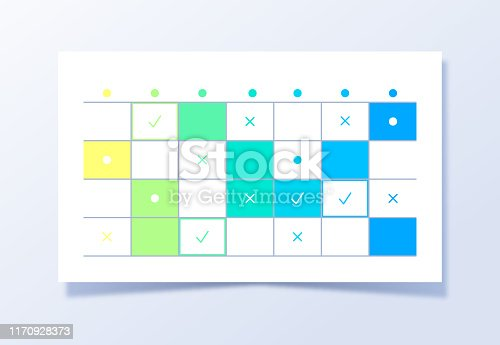 Planning and project management scheduling schedule grid events.