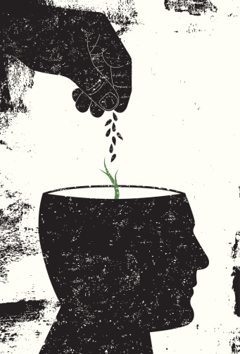 Plant a seed in the mind