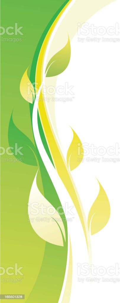 plant background royalty-free stock vector art
