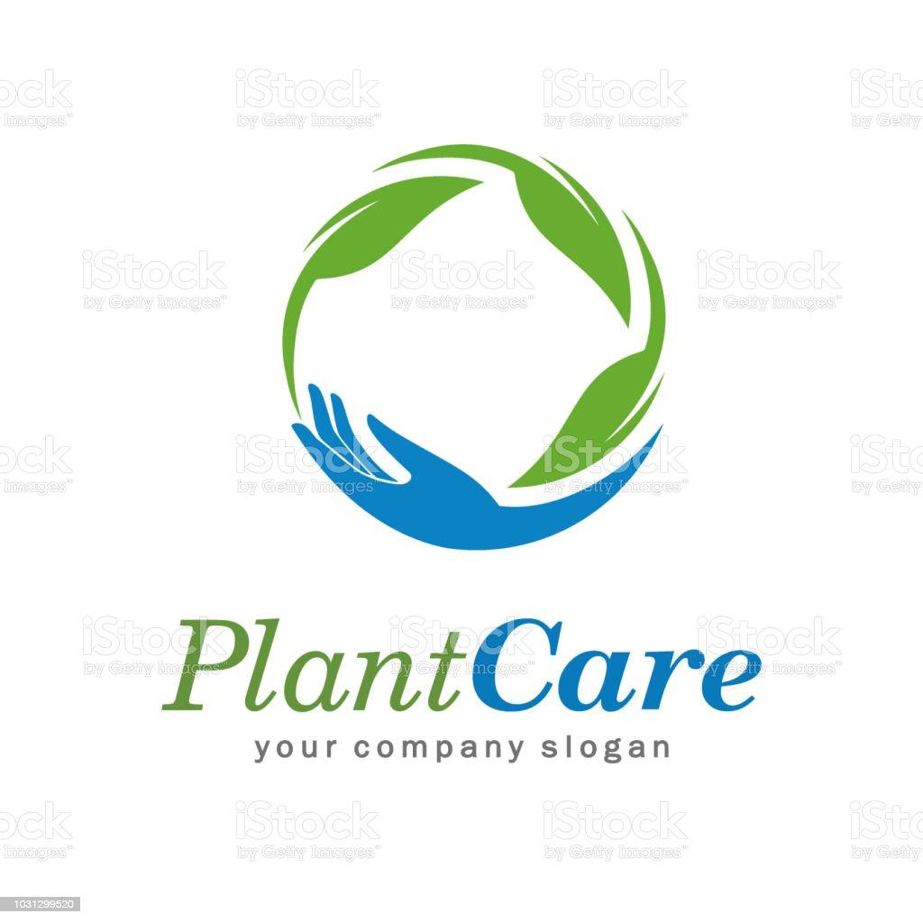 Plant care vector design concept vector art illustration