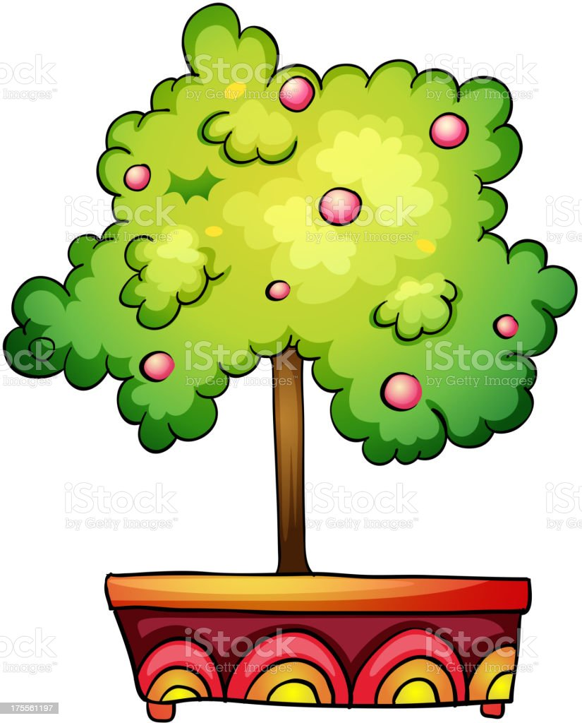 plant in pot royalty-free plant in pot stock vector art & more images of botany