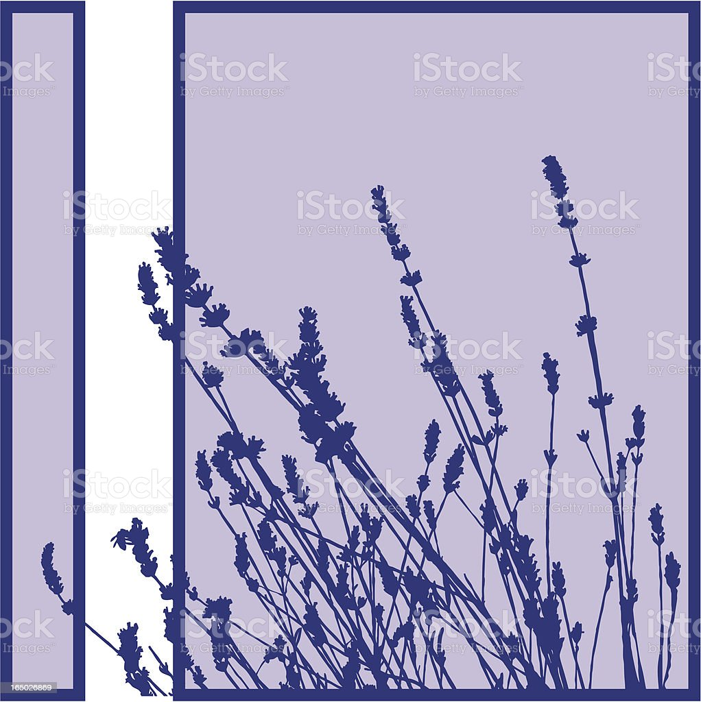 Plant Silhouette royalty-free stock vector art