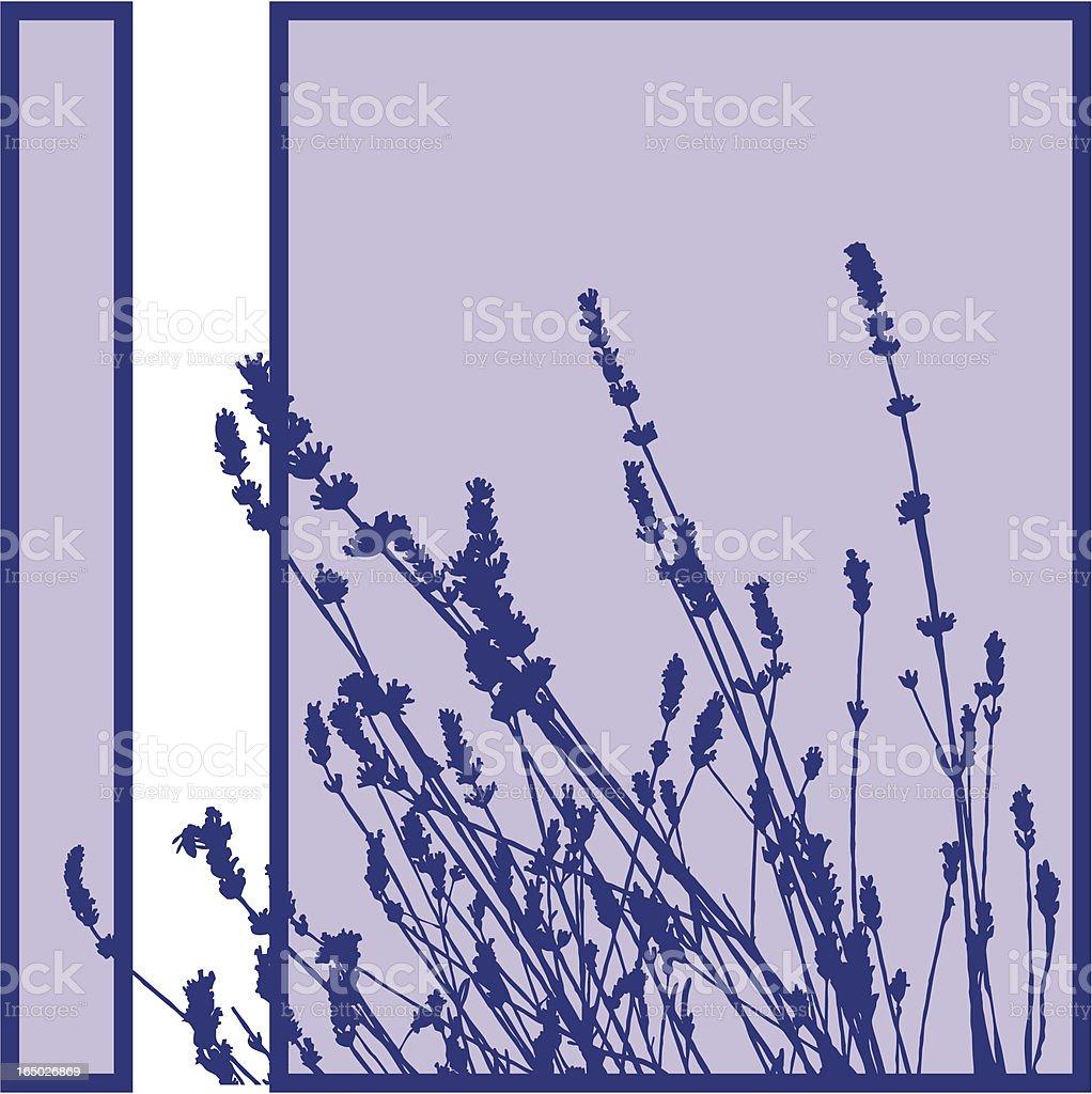 Plant Silhouette vector art illustration