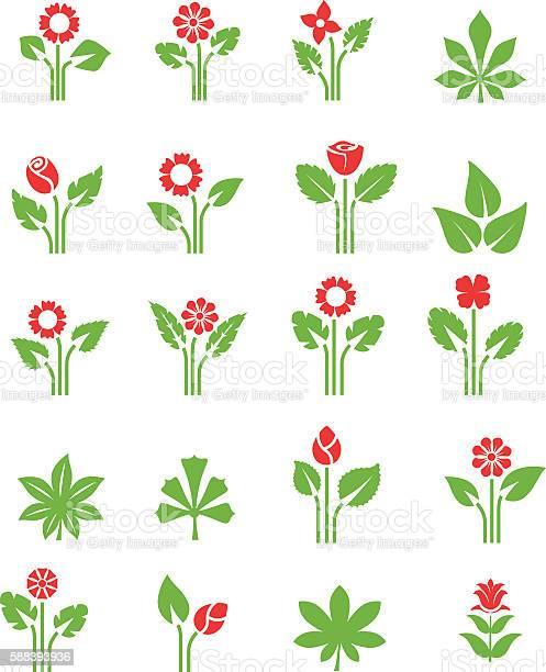 Plants icon set vector id588393936?b=1&k=6&m=588393936&s=612x612&h=ygxuxmlraxleqmbsbmtffhbtn2ul6mtnsw4vt8hhww8=
