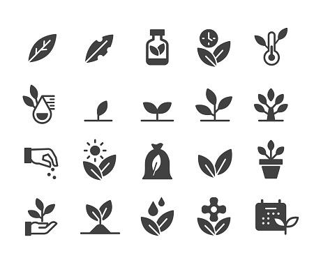 Plants Icons - Classic Series