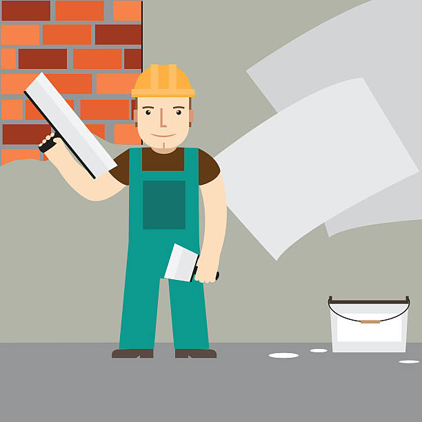 Top 60 Drywall Clip Art, Vector Graphics And Illustrations