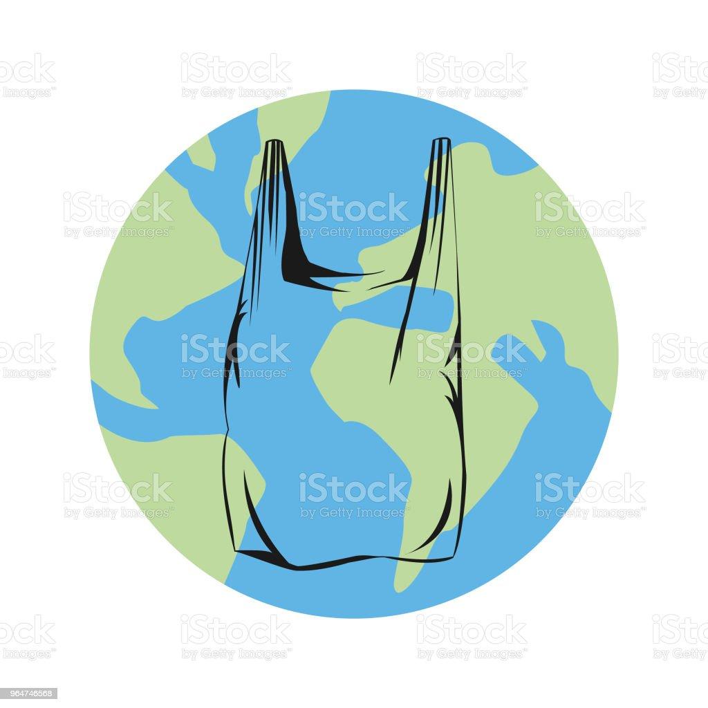 Plastic bag global waste royalty-free plastic bag global waste stock vector art & more images of bag