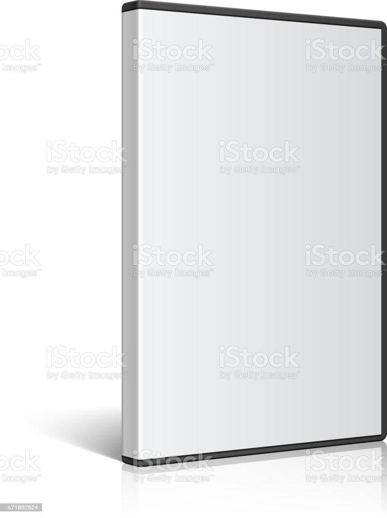 Ilustración de Tonos Realista Caja Para Disco Dvd O Cd Vector y más ...