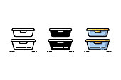 istock Plastic containers is great for keeping food and leftovers fresh 1226486842