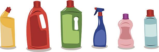 plastikbehältern mit blank tags - altglas stock-grafiken, -clipart, -cartoons und -symbole