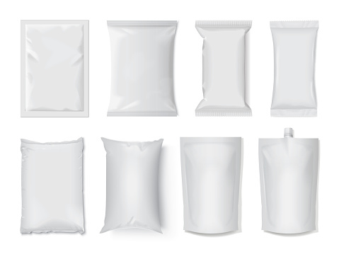 plastic package for product