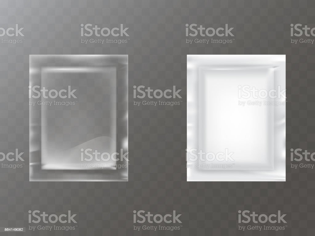 Plastic packets realistic vector royalty-free plastic packets realistic vector stock vector art & more images of advertisement