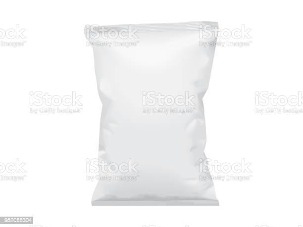 Håna Vector Mall Förpackningar Av Plast Papper-vektorgrafik och fler bilder på Annons