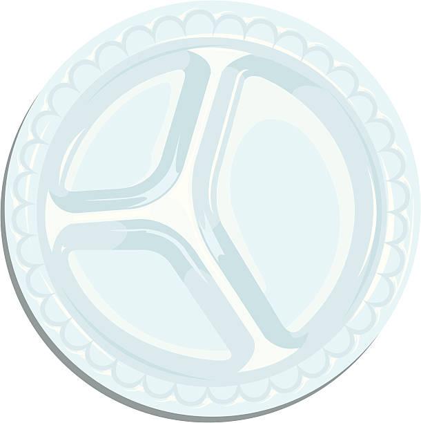 kunststoff-platte - plastikteller stock-grafiken, -clipart, -cartoons und -symbole