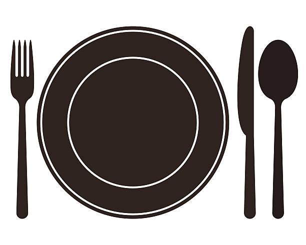 Image result for clip art dinner setting
