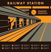 platform railway station