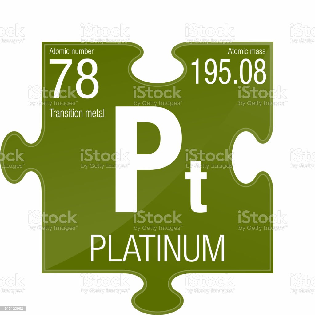 Platinum symbol element number 78 of the periodic table of the platinum symbol element number 78 of the periodic table of the elements chemistry royalty urtaz Gallery