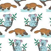 Platypus.Australian Koala
