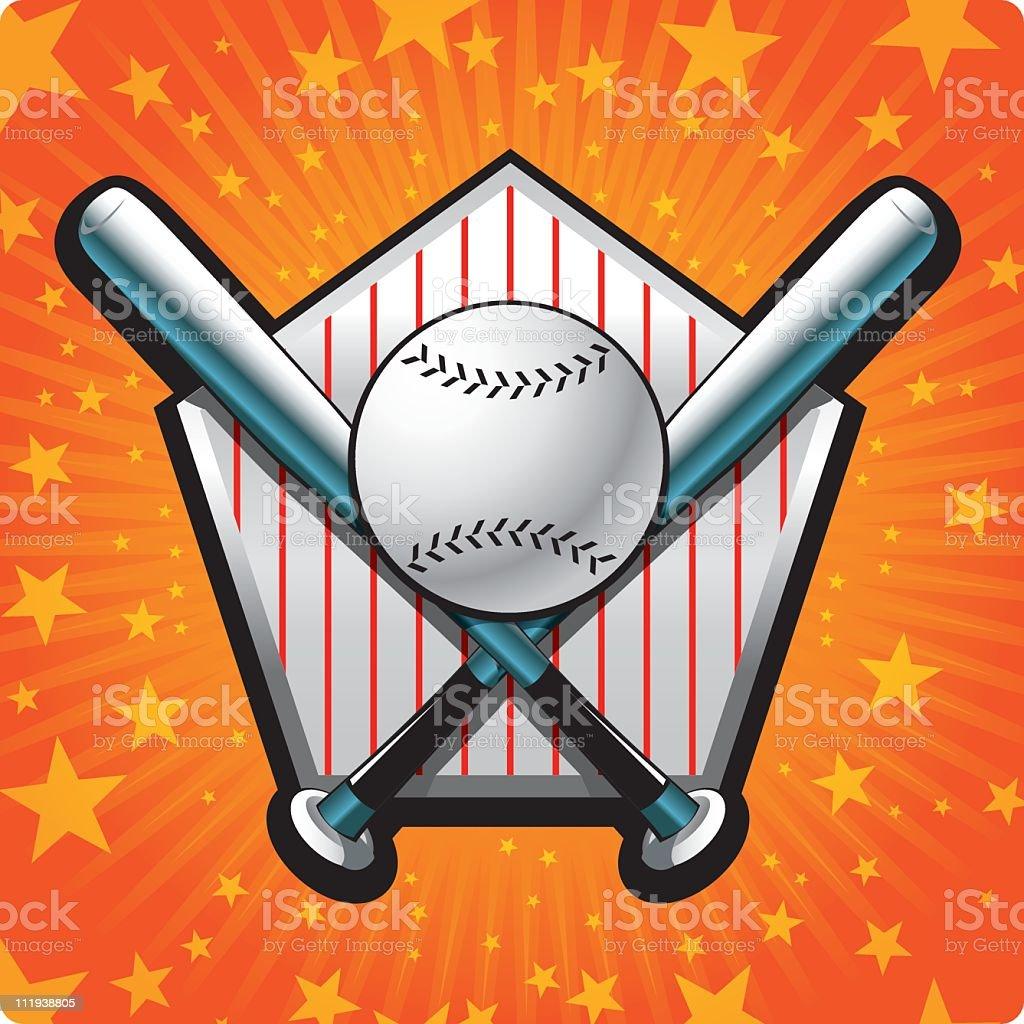 play ball! royalty-free stock vector art