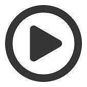 Vector of Play Button Icon