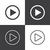 Play button Icons