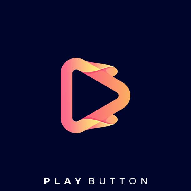 Play Button Illustration Vector Template Play Button Illustration Vector Template. Suitable for Creative Industry, Multimedia, entertainment, Educations, Shop, and any related business. music and entertainment icons stock illustrations