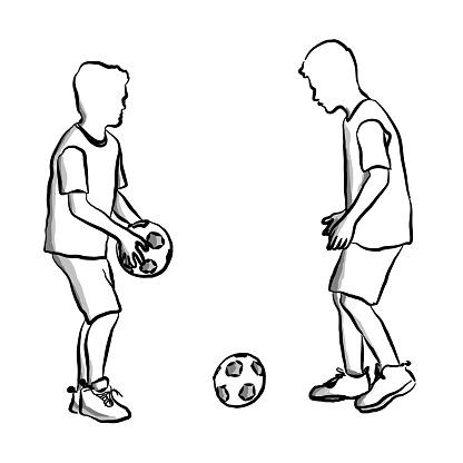 Play Football Soccer Boys