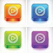 Play on Color Square Buttons