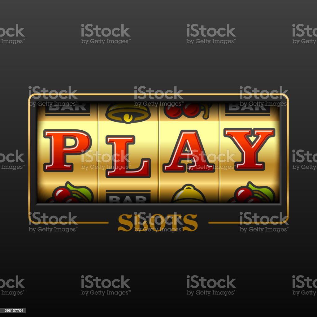 Play slots - Illustration vectorielle