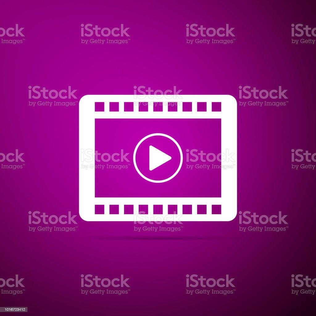 Nachrichten Und Medien Onlinewebbrowser Mit Videosymbol In Dünnlinienstil  Stock Vektor Art und mehr Bilder von ClipArt - iStock