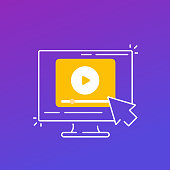 istock play video, media content vector icon 1284260656