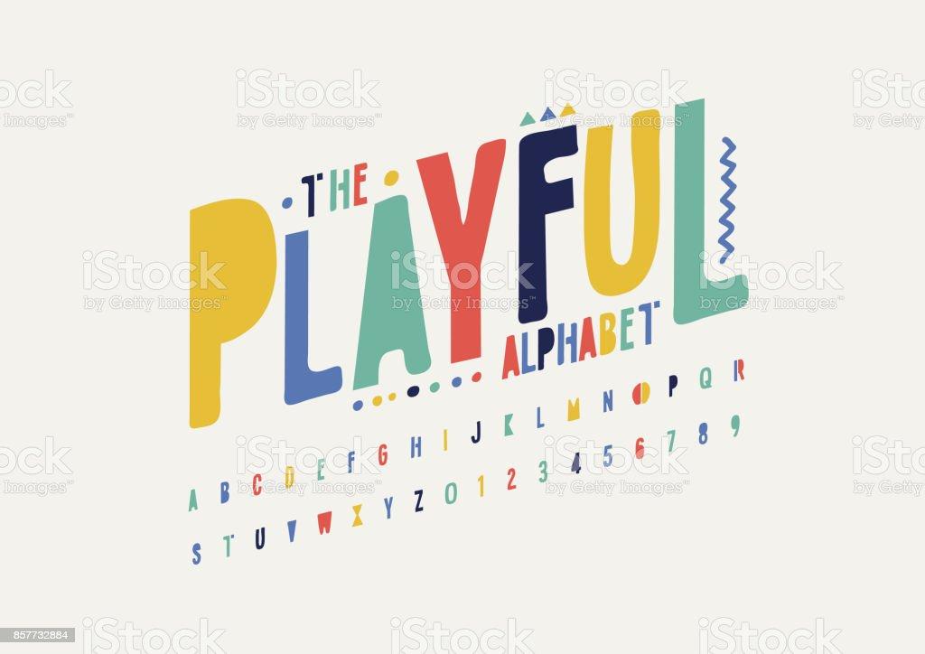 Playful alphabet
