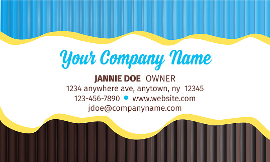 playful business card