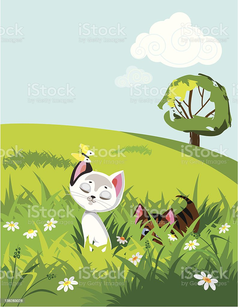 Playful kitties royalty-free playful kitties stock vector art & more images of animal