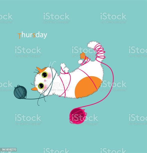 Playful kitty days vector id941616270?b=1&k=6&m=941616270&s=612x612&h=td4qk4jo4rpegfvg0ekqmk329brpkkz1cxcoatzr3so=