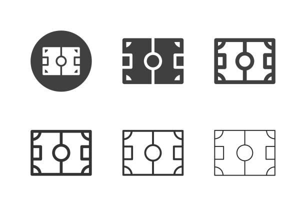 Playground Icons - Multi Series vector art illustration