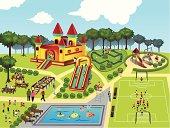 Playground map