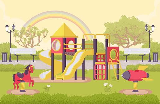 Playground outdoor structure