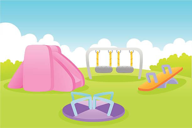 playground - recess stock illustrations, clip art, cartoons, & icons