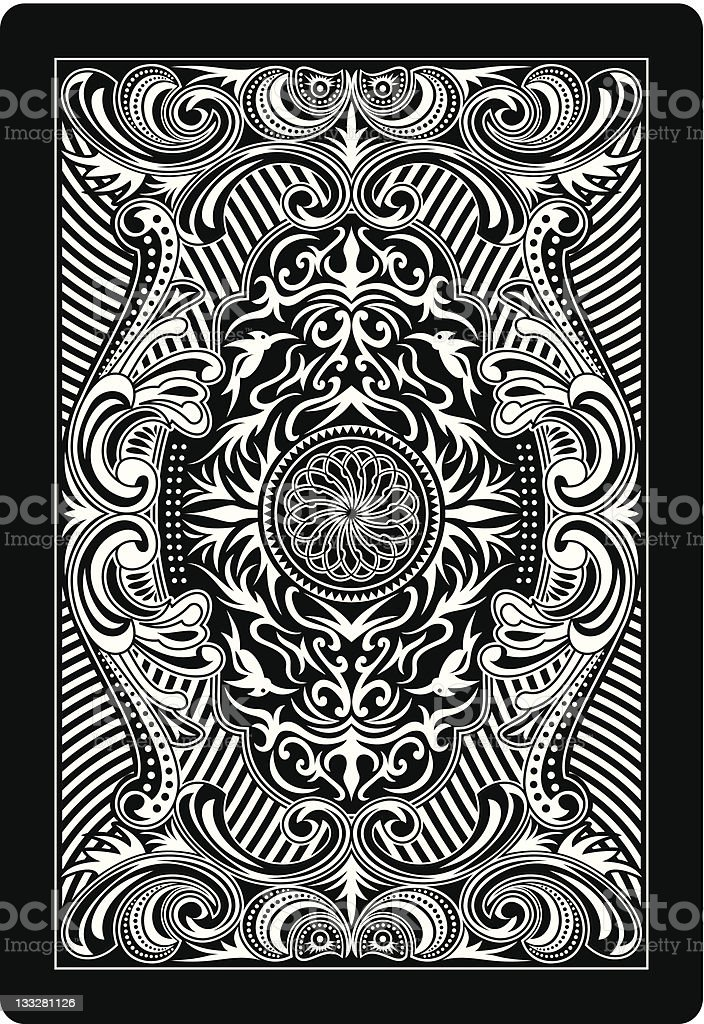 playing card back side royalty-free playing card back side stock vector art & more images of abstract
