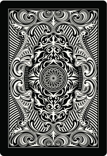 playing card back side