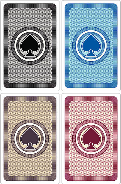 Best Playing Card Back Illustrations, Royalty-Free Vector ...