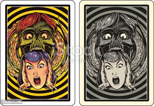 istock Playing card design 1308071789