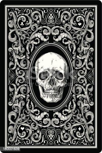 istock Playing Card design 180001639