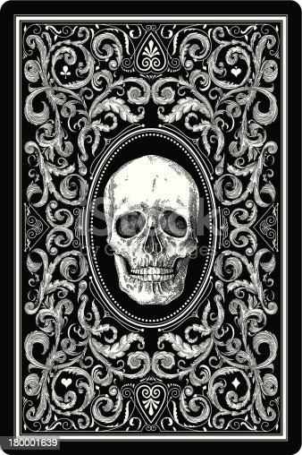 Design of playing card.